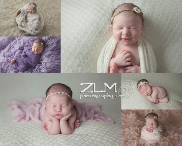 lyla newborn session